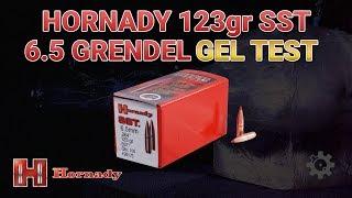 Hornady 123gr SST 6.5 Grendel Gel Test