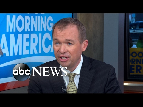 Mick Mulvaney discusses President Trump