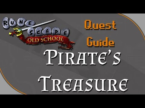 [OSRS] Pirate's Treasure Quest Guide