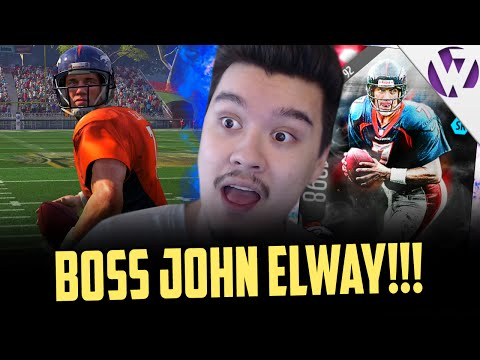 BOSS JOHN ELWAY CAN DO IT ALL!!! - MADDEN 16 ULTIMATE LEGEND JOHN ELWAY GAMEPLAY