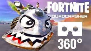 Fortnite 360 video VR Quadcrasher Quad Virtual Reality Samsung Gear VR Box