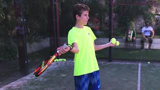 """JAVI vs ALEX in #J3Play PADELCESTO """"24h without FORTNITE or sto buy SKINS"""" CHALLENGE PÁDEL"""