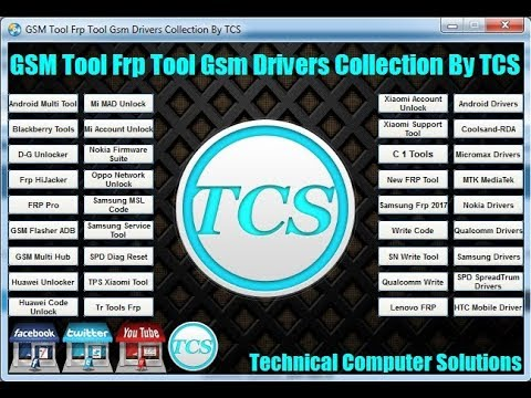 All Gsm Tool Frp Tool imei Tool All Gsm Drivers Collection