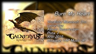 Burn My Heart - Galneryus (Subtitulado al espa?ol) [Lyrics]