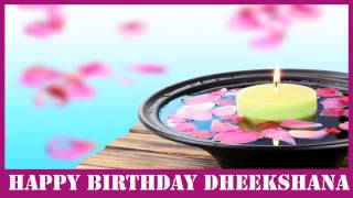 Dheekshana   Birthday SPA - Happy Birthday