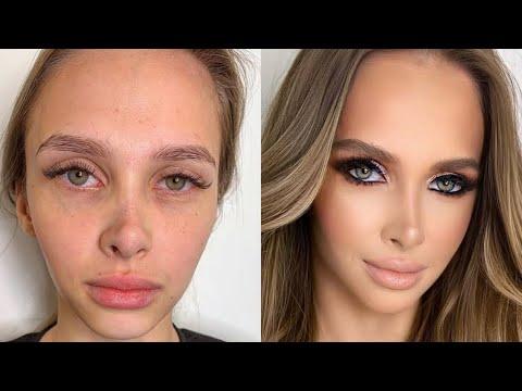 Самые красивые макияжи от Гоар Аветисян , до и после макияж , Гоар Instagram преображение