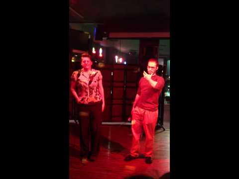 Karaoke Royalty Alisha Rayne, and Ryan Rowley Sing Total Eclipse of the Heart