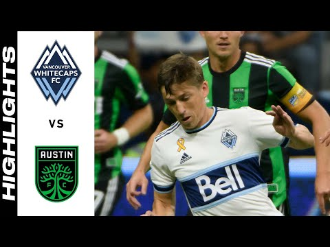 Vancouver Whitecaps Austin FC Goals And Highlights