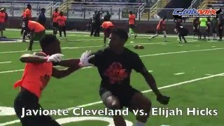official spe elite camp louisiana 2016   wr vs db 1 on 1 s