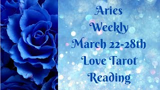 Aries Weekly 💖~ YOU vs. THEM ~ March 22-28th Love Tarot Reading