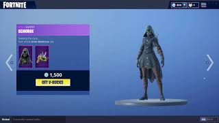 *NEW* PLAGUE& SCOURGE SKINS! (Fortnite Item Shop October 11th)