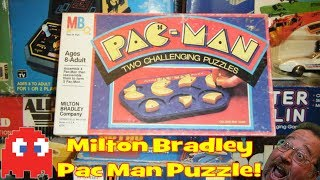 Milton Bradley Pac Man Puzzle Game!