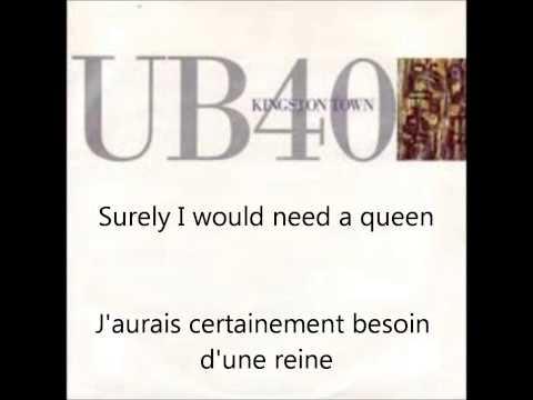 UB40 - Kingston Town - French & English Lyrics