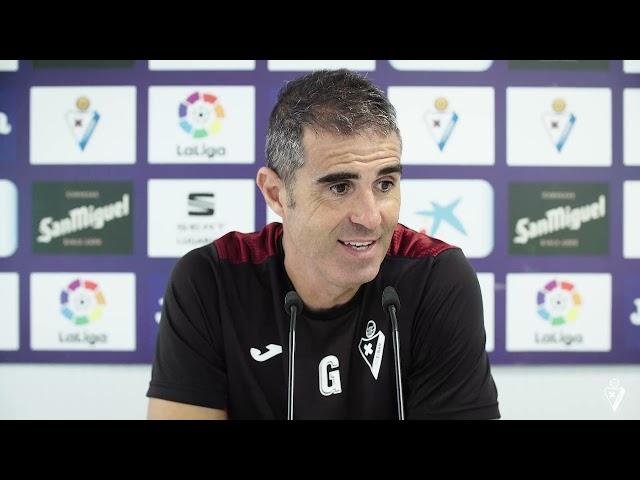 Gaizka Garitanoren partida aurreko prentsaurrekoa   Real Sociedad B - #Eibar 2021/22
