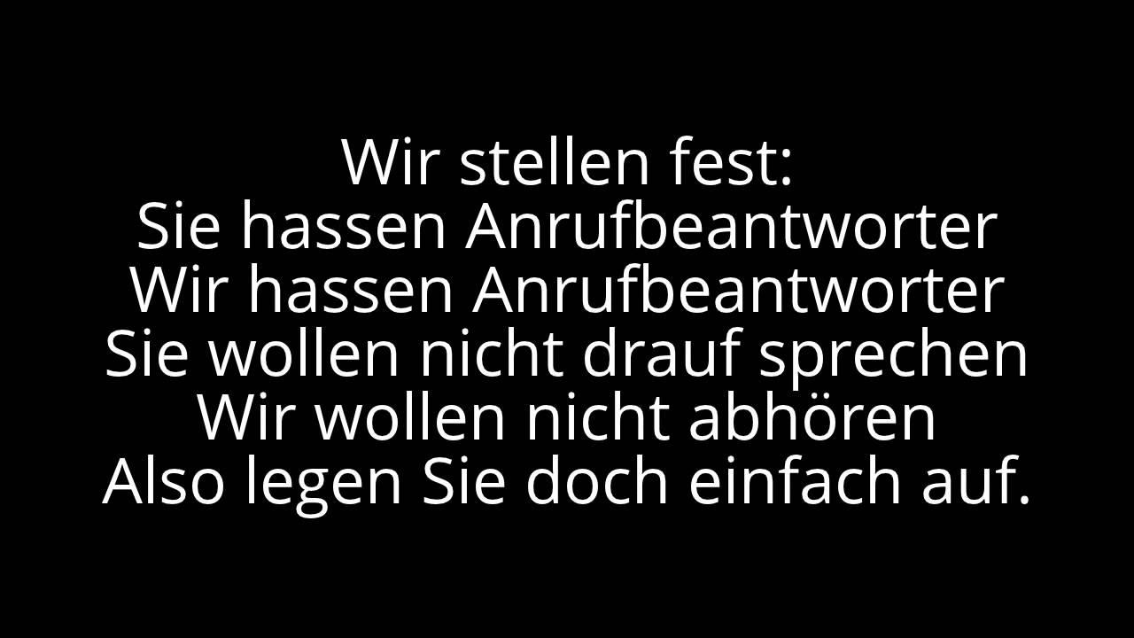 Lustige Ab Sprüche | Top 7 Besten Anrufbeantworter Spruche Youtube