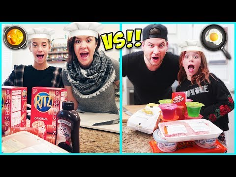 $20 MEAL CHALLENGE!! WHO COOKED IT BETTER?! / SmellyBellyTV