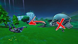 How to land without deploying Glider Glitch in Fortnite (Season 8 Glitch)