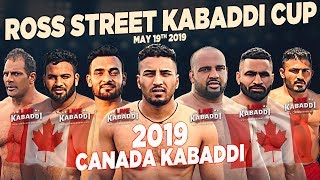LIVE 2019 Canada Kabaddi Ross Street Kabaddi Cup