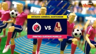 Cúcuta vs Tolima (highlights) Liga Aguila 2019-II   Cuadrangulares fecha 3