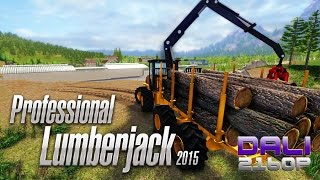 Professional Lumberjack 2015 PC 4K Gameplay 2160p
