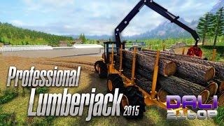 Professional Lumberjack 2015 PC 4K Gameplay 2160p