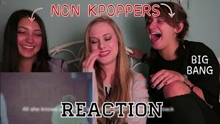 Download NON KPOP FANS REACT BIG BANG-LETS NOT FALL IN LOVE MV Mp3