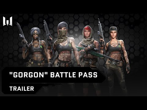 Gorgon - New Battle Pass on PC - Warface