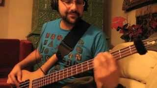 RATM - Bombtrack - Bass Cover