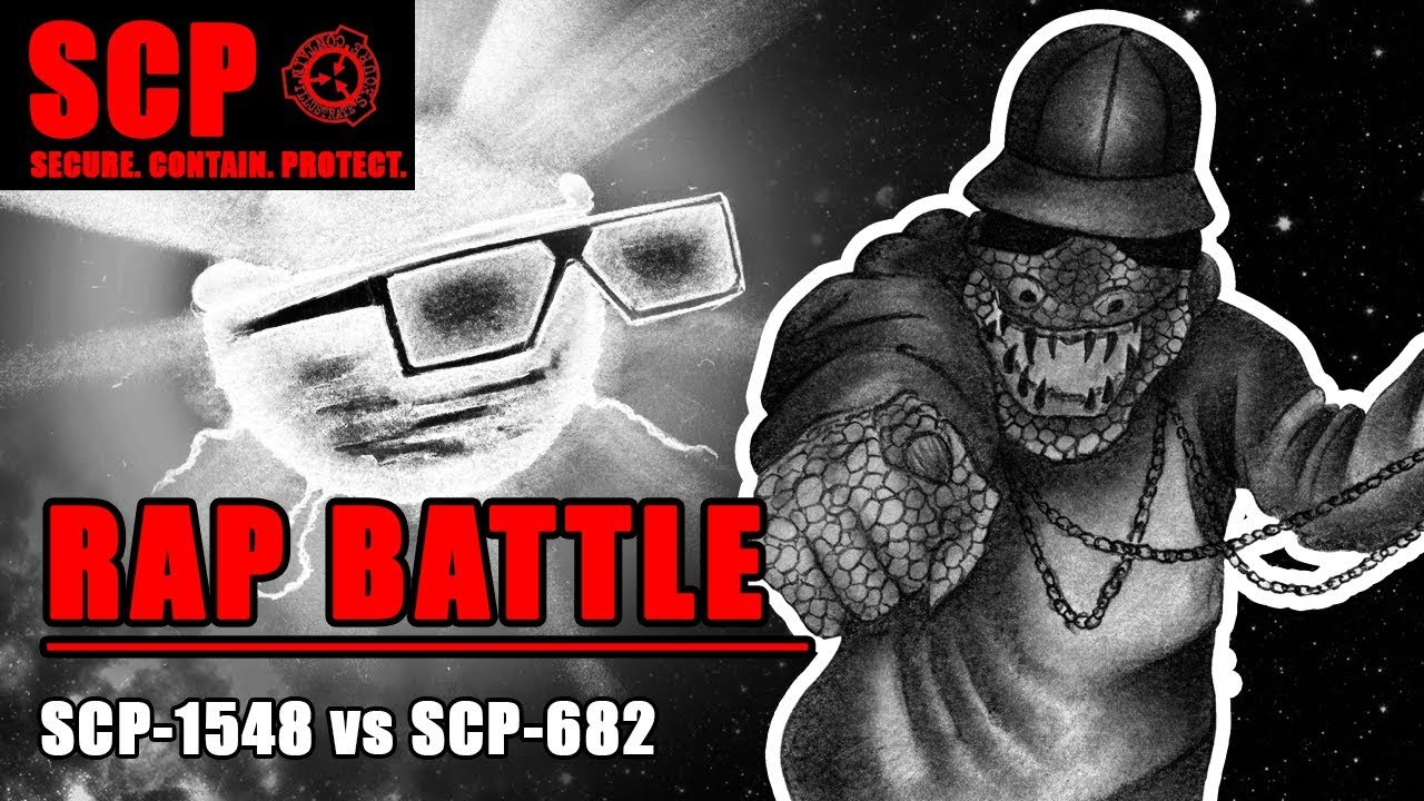 SCP-682 vs SCP-1548 ft  The Haunted Reader RAP BATTLE