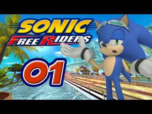 Sonic Free Riders [XBox 360] #1 - Team Heroes vs. Team Rose