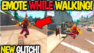 Fortnite Glitch! *HOW TO* Glide & Walk with Any EMOTE! Fortnite NEW Glitch! FOR PS4/XBOX/PC