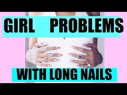Girls Problems With Long Nails | Lexi Noel CATCHING KELCE