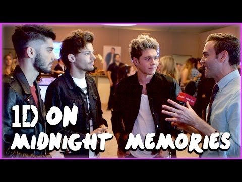 One Direction Dishes on 1D Day & Midnight...