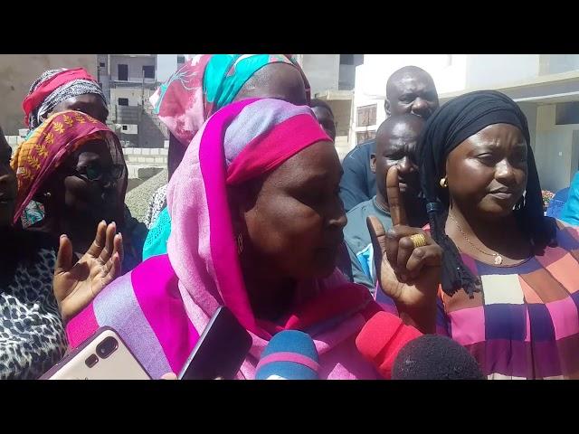 Litige foncier à Ouest Foire Adama Faye cité