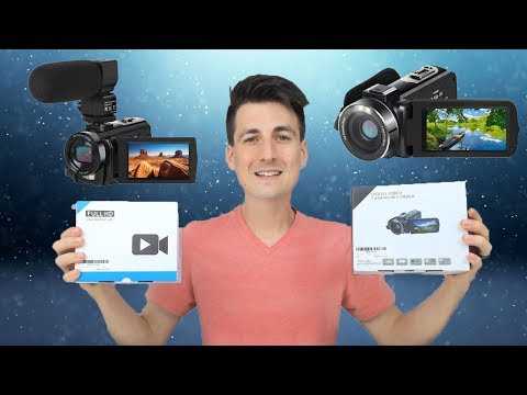 ACTINOW Video Camera Camcorder For YouTube Vlogging Vlogger Review