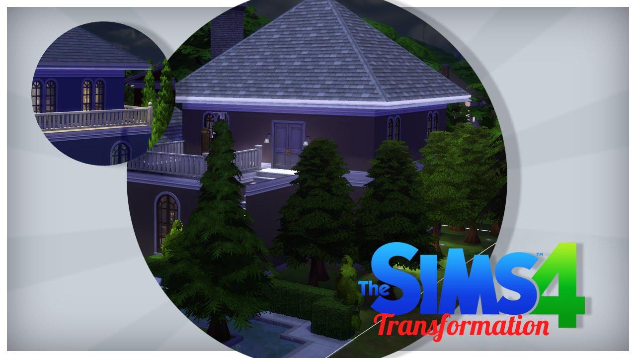 sims 4 transformation d 39 une maison avant apr s 1 youtube. Black Bedroom Furniture Sets. Home Design Ideas