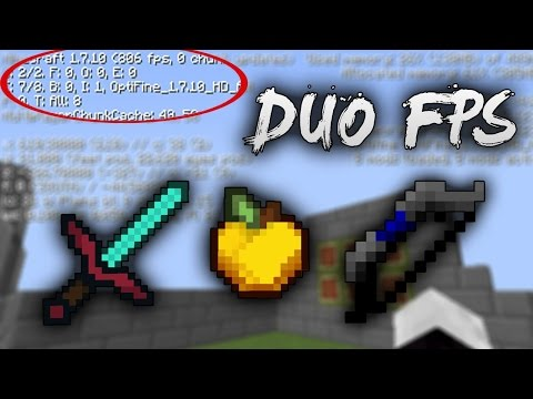 !! DUO FPS | Resoucpack FAMOUS by InfoLag and Megah - [No LAG - more FPS]