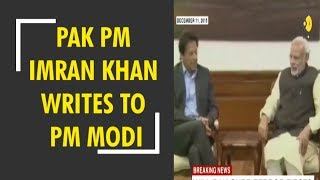 Pak PM Imran Khan writes to PM Modi for dialogue between India-Pak Foreign Ministers