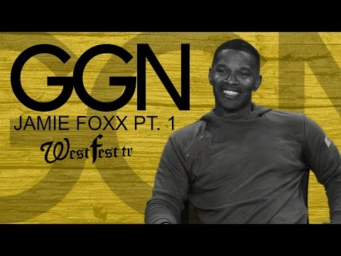 Jamie Foxx GG-N-Word (Full Interview Coming Soon)