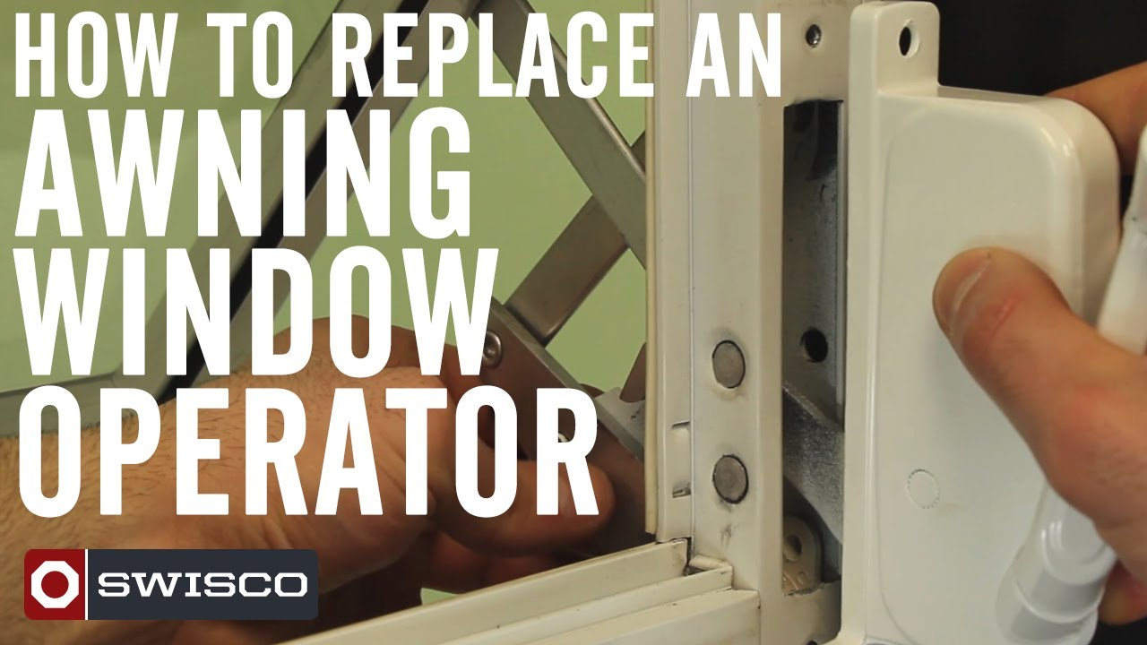 How To Replace An Awning Window Operator 1080p Youtube