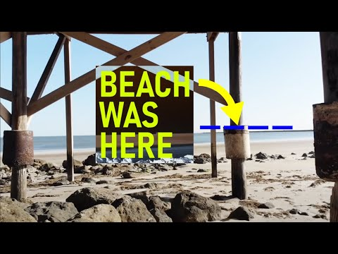Texas' Beaches Are Disappearing, Leaving a Wake of Worthless Waterfront Houses