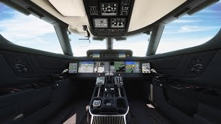 The Gulfstream Symmetry Flight Deck™