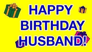 HAPPY BIRTHDAY HUSBAND! birthday cards