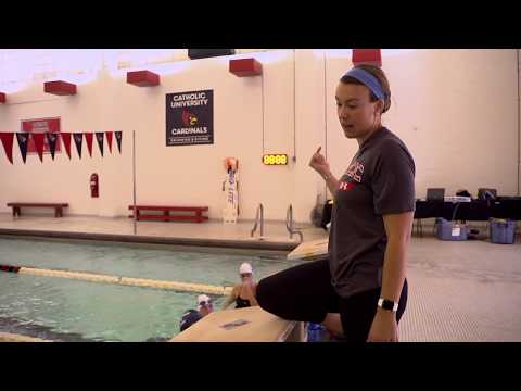 A Day in the Life at The Catholic University of America // Diving Into Swimming