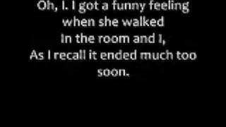 Repeat youtube video Oh What A Night lyrics