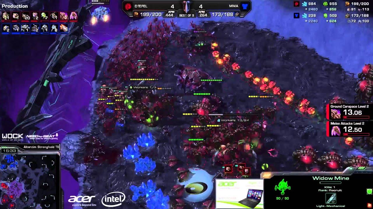 MMA vs. Tefel #3 (ATC) - Acer vs. coLDignitas - Game 9 - StarCraft 2