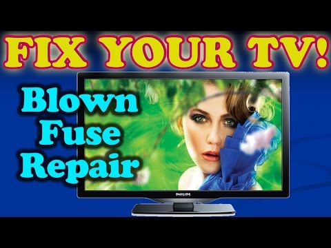 TV Repair for Constantly Blowing Fuse on