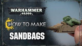 How to Make: Sandbags