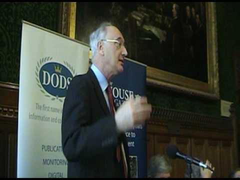 Sir George Young at The House Magazine Speaker hustings