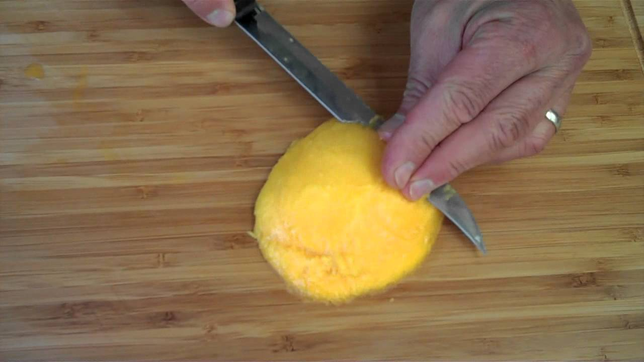 How To Pick And Cut A Kent Mango